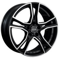 8,0*17 5*100 ET35 68  OZ Adrenalina Matt Black + Diamond Cut