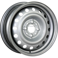 5,5*14 4*100 ET45 56,1  Trebl 53A45V Silver